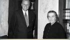 Billy Graham y la primer ministro de Israel, Golda Meir